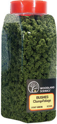 Woodland Scenics Model Railroad Landscape Bushes Foliage Shaker Light Green