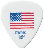 Pickboy USA America Flag Red/White/Blue Guitar/Bass Picks 1.00mm (10pk)