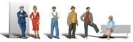 Woodland Scenics N Scale Scenic Accents Figures/People Set Casual People