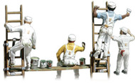 Woodland Scenics N Scale Scenic Accents Figures/People Painters/Accessories (4)