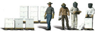 Woodland Scenics N Scale Scenic Accents Figures/People Set Beekeepers