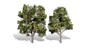 "Woodland Scenics Classic Trees Ready Made Sun Kissed 5"" to 6"" Tall 2-Pack"