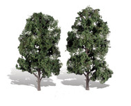 "Woodland Scenics Classic Trees Ready Made Cool Shade 8"" to 9"" Tall 2-Pack"