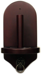 Deluxe HJ Scott Wall Mounted Pool/Billiard Cone Chalk Holder - Cherry Finish