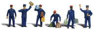 Woodland Scenics O Scale Scenic Accents Figures/People Set Train Personnel (6)