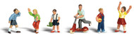 Woodland Scenics N Scale Scenic Accents Figures/People Set Children (6)
