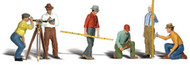Woodland Scenics O Scale Scenic Accents Figures/People Set Surveyors