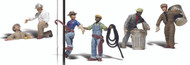 Woodland Scenics O Scale Scenic Accents Figures/People Set City Workers (6)