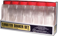 Woodland Scenics Model Railroad Landscape Canister Shaker Set (6 Pieces)