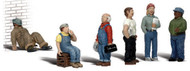 Woodland Scenics O Scale Scenic Accents Figures/People Set Factory Workers