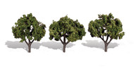 "Woodland Scenics Classic Trees Ready Made Sun Kissed 3"" to 4"" Tall 3-Pack"