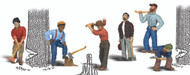 Woodland Scenics O Scale Scenic Accents Figures/People Set Lumberjacks