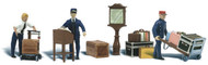 Woodland Scenics N Scale Scenic Accents Figures/People Depot Workers/Acessories