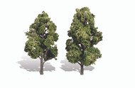 "Woodland Scenics Classic Trees Ready Made Sun Kissed 6"" to 7"" Tall 2-Pack"