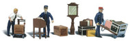 Woodland Scenics O Scale Scenic Accents Figures/People Set Depot Workers