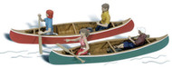 Woodland Scenics N Scale Scenic Accents Figures/People Set Canoers (4)