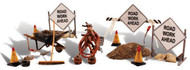 Woodland Scenics O Scale Scenic Accents Figures/People Set Road Crew Detail