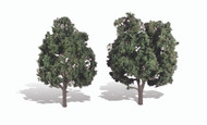 "Woodland Scenics Classic Trees Ready Made Cool Shade 5"" to 6"" Tall 2-Pack"