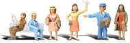 Woodland Scenics N Scale Scenic Accents Figures/People Set Commuters