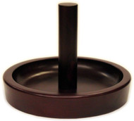 Deluxe HJ Scott Pool/Billiard Cone Chalk Bowl Holder - Cherry Finish