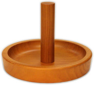 Deluxe HJ Scott Pool/Billiard Cone Chalk Bowl Holder - Oak Finish