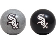 MLB Imperial Chicago White Sox Pool Billiard Cue/8 Ball One Pair -Black & Silver