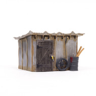 Woodland Scenics O Scale Built-Up Building/Structure Tin Shack