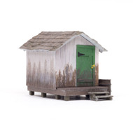 Woodland Scenics O Scale Built-Up Building/Structure Wood Shack