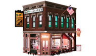 Woodland Scenics O Scale Built-Up Building/Structure Corner Emporium