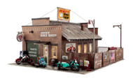 Woodland Scenics O Scale Built-Up Building/Structure Deuce's Cycle Shop