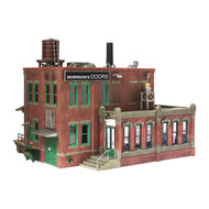 Woodland Scenics O Scale Built-Up Building/Structure Morrison Door Factory