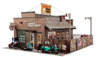 Woodland Scenics O Scale Pre-Fab Building/Structure Kit Deuce's Bike Shop