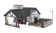 Woodland Scenics O Scale Built-Up Building/Structure Ethyl's Gas & Service