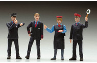 LGB G Scale Figure Set - Workers - Swiss Railroad 4-Pack