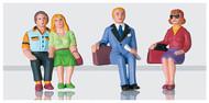 LGB G Scale Figure Set - Passengers - Seated Set #2