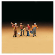 LGB G Scale Figure Set - Workers - Set #1 4-Pack