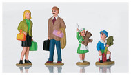 LGB G Scale Figure Set - People - Family 4-Pack