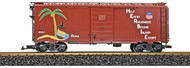 LGB G Scale 40ft. Steel Box Freight Car Union Pacific/UP H.E.R.B.I.E. (Herb-1)