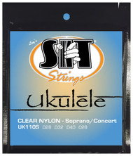 SIT UK110S Clear Nylon Soprano/Concert Ukulele/Uke Strings - 6 PACKS
