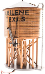 Broadway Limited HO Scale Operating Water Tower with Sound - City of Abilene
