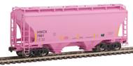 American Limited HO Scale TrinityRail Covered Hopper Halliburton HWCX #7995