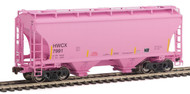 American Limited HO Scale TrinityRail Covered Hopper Halliburton HWCX #7996