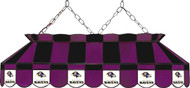 NFL Baltimore Ravens Stained Glass Pool/Billiard Table Light - New!!!