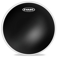 "Evans Black Series TT14CHR Tom Batter Two Ply 14"" Black Drumhead Drum Head"