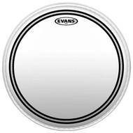 """Evans EC2 Series TT14EC2S Batter Two Ply 14"""" Clear Drumhead Drum Head"""