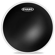 """Evans TT10CHR  10"""" 2 Ply Black Chrome Clear"""