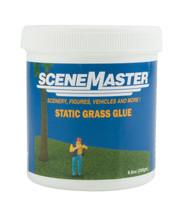 Walthers SceneMaster Static Grass Model Railroad Glue/Adhesive 8.8oz/250g