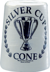 Silver Cup Cone Pool Billiard Hand Chalk Talc