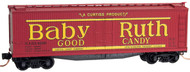 Micro-Trains MTL N-Scale 40ft Wood-Sheathed Reefer Baby Ruth Candy Series #2