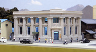 Kato N Scale Building/Structure Local Bank - Assembled - 4-7/8 x 6-3/8 x 3in
